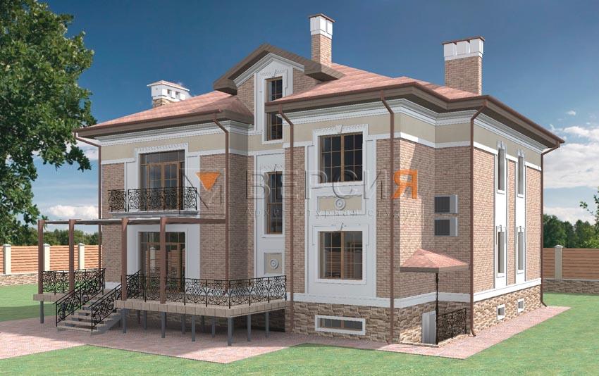 дом двухэтажный проект