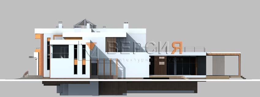 дом современный загородный