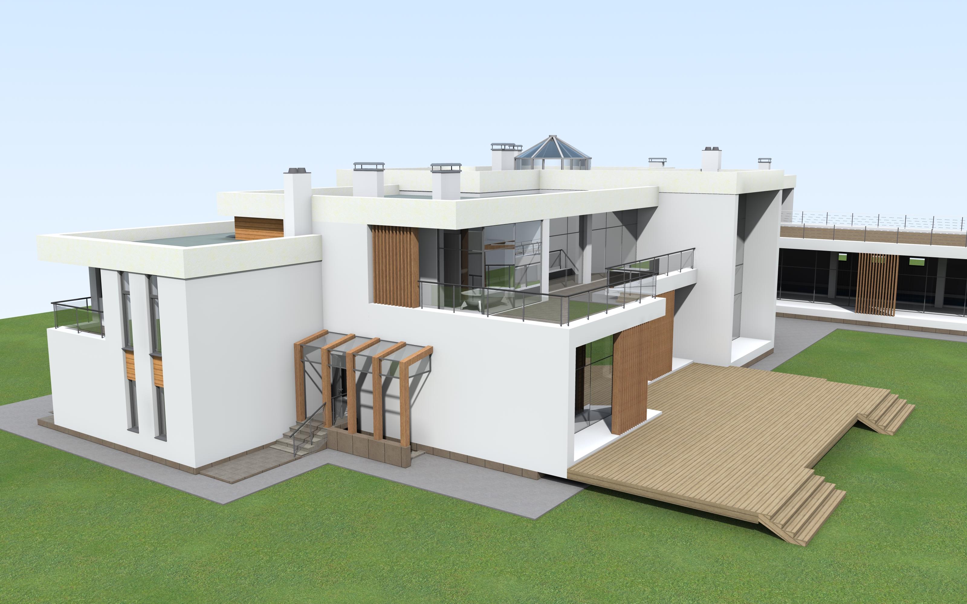индивидуального жилого дома проектирование