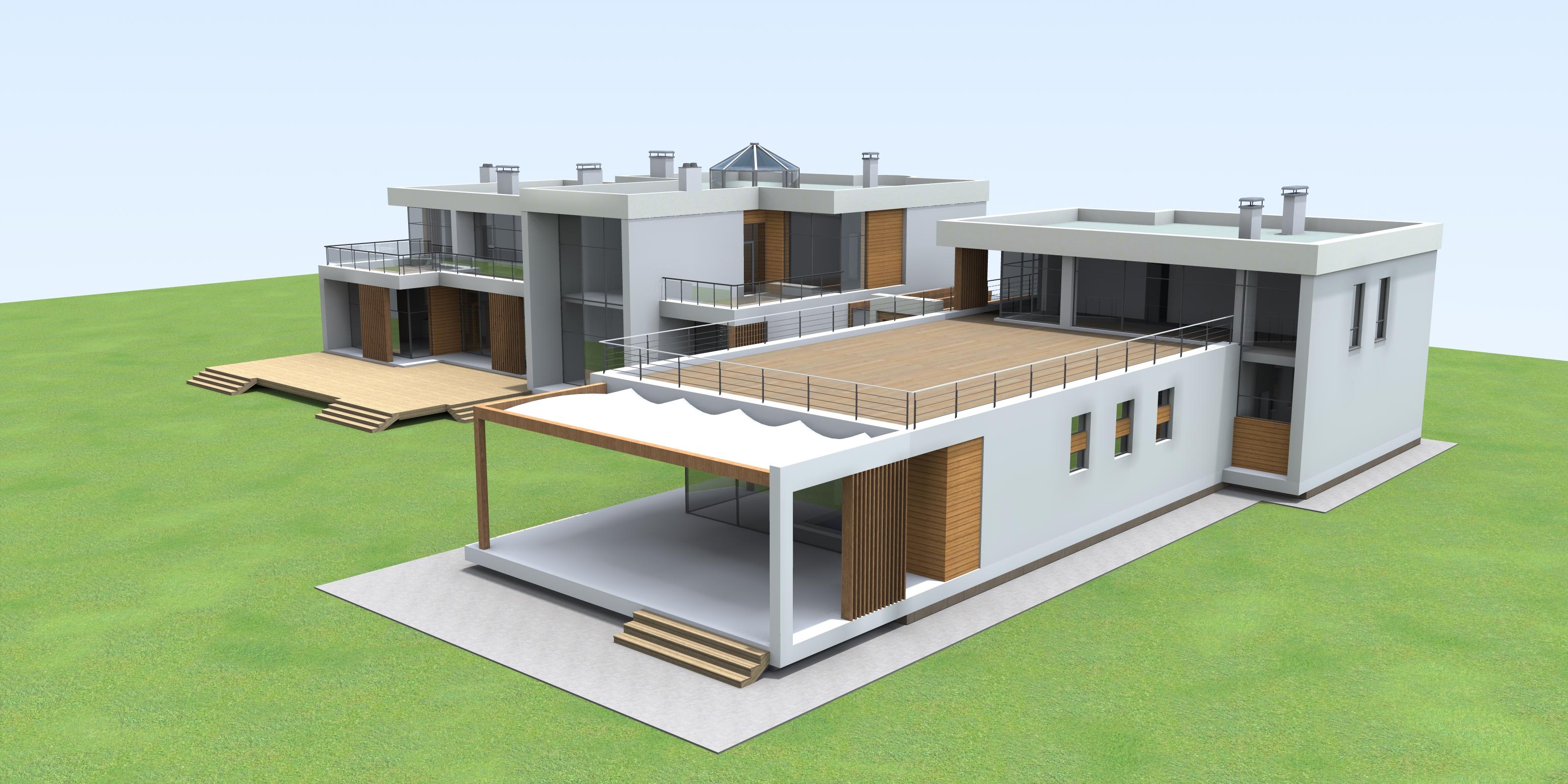 проектирование индивидуального дома жилого