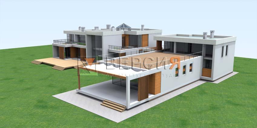 проект дома двухэтажного