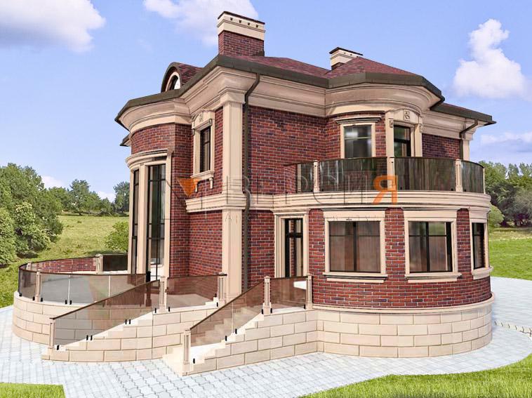 современный загородный дом проект