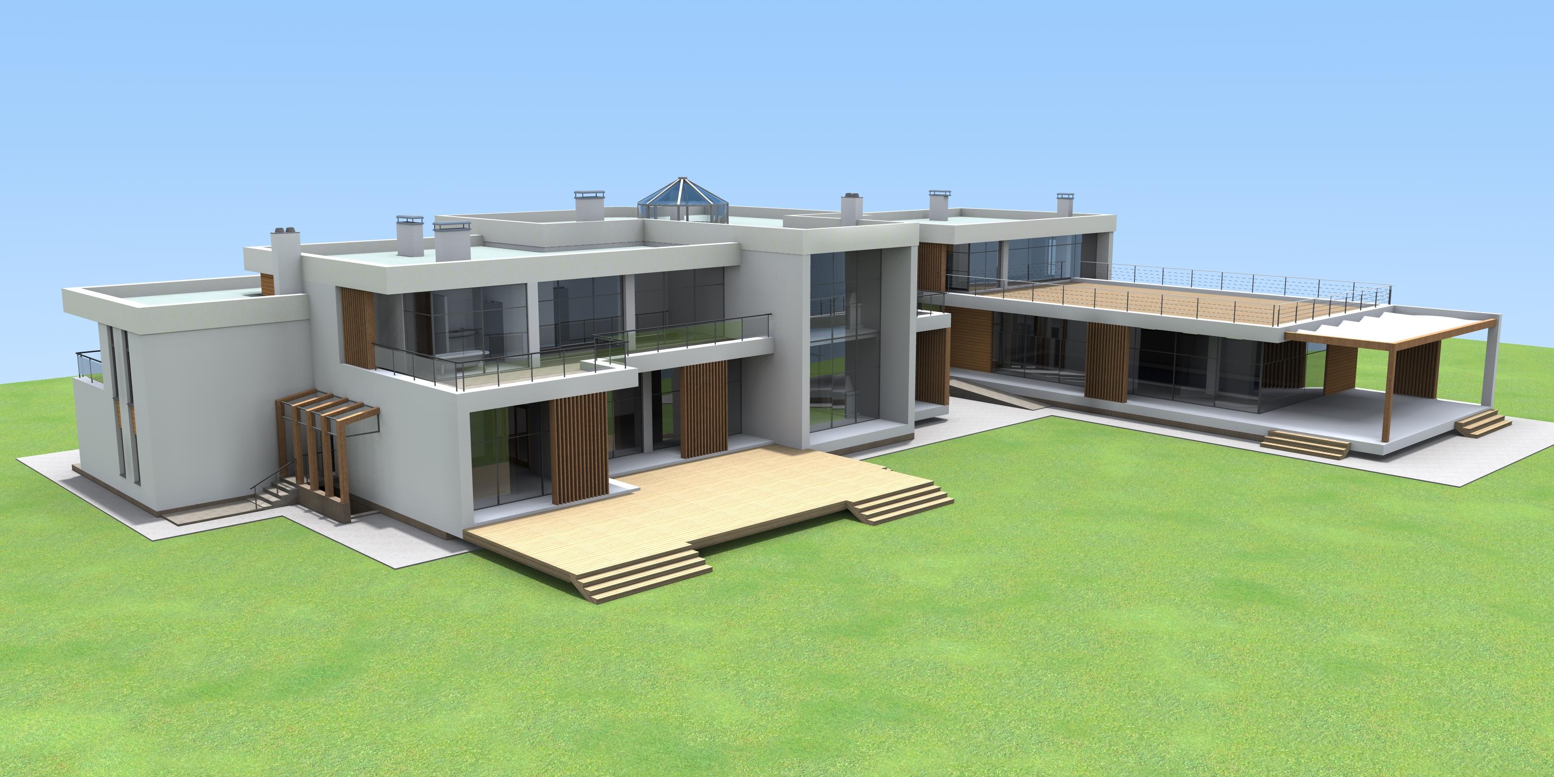 частный жилой дом проектирование