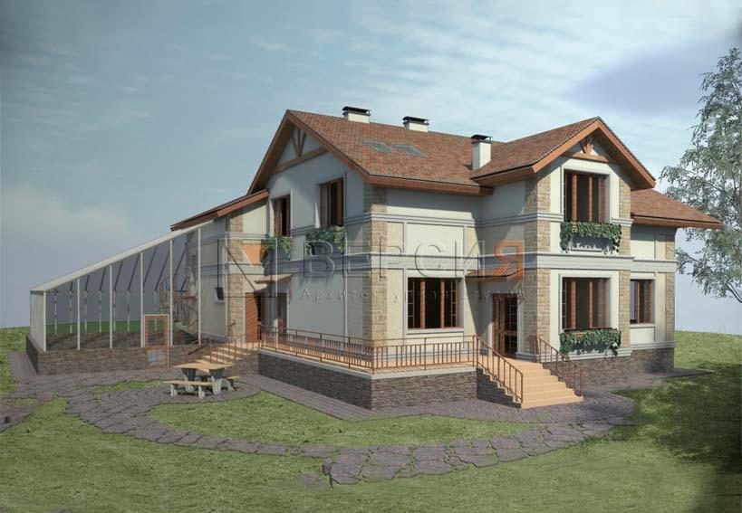 двухэтажный дом проект