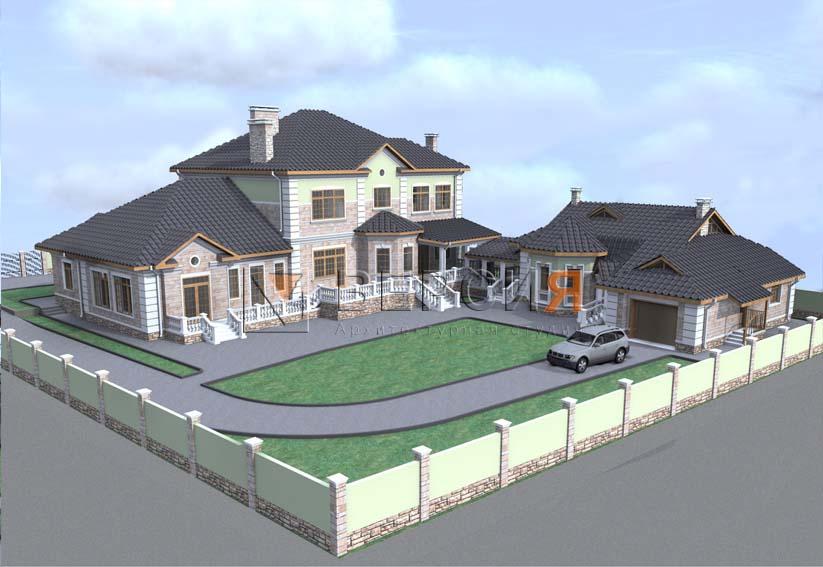дом загородный проект