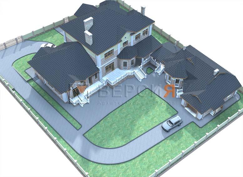 загородный дом проект