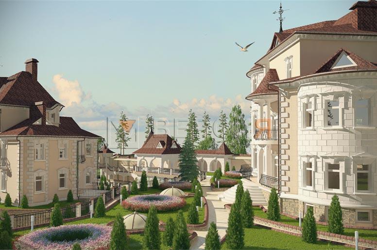 индивидуальный жилой дом проект