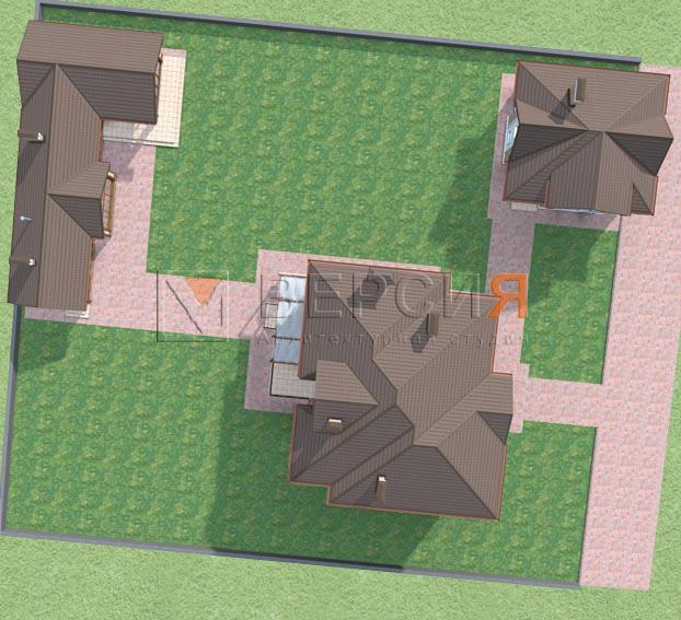 проект дома с гаражом и