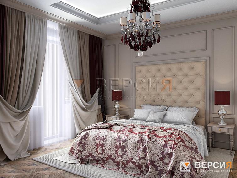 дизайн спальни в классике
