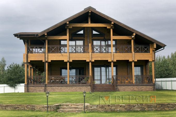 Проект Деревянного дома на Волге