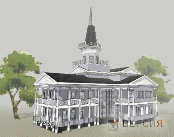 проект административного здания
