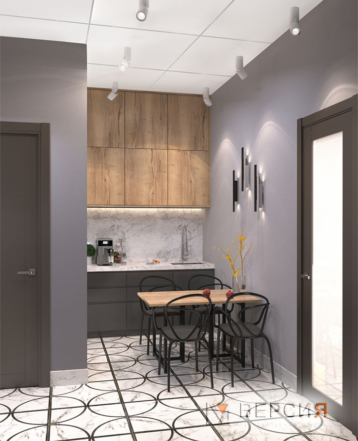 Кухня современный лофт