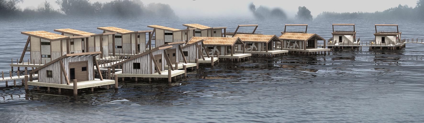 проект гостиницы на воде