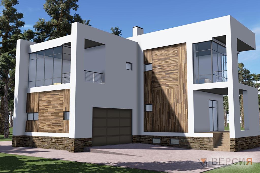 минимализм дом проект