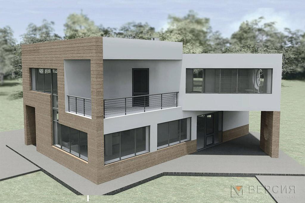 дом современный стиль конструктивизм