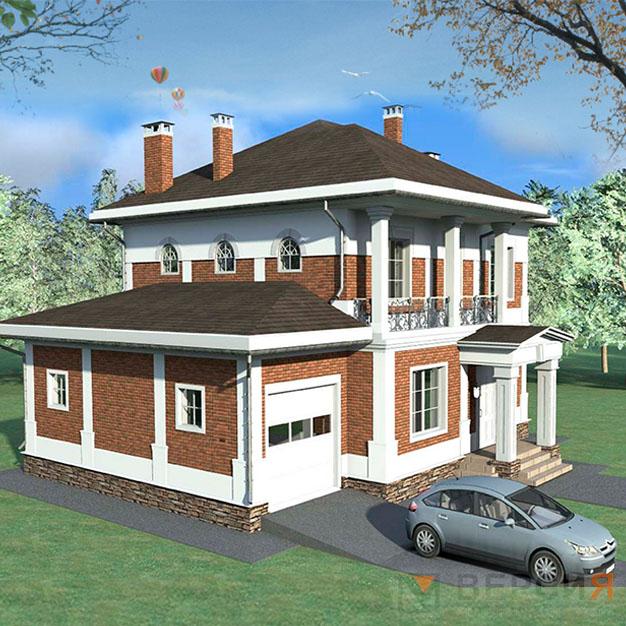готовый проект дома 200кв.м