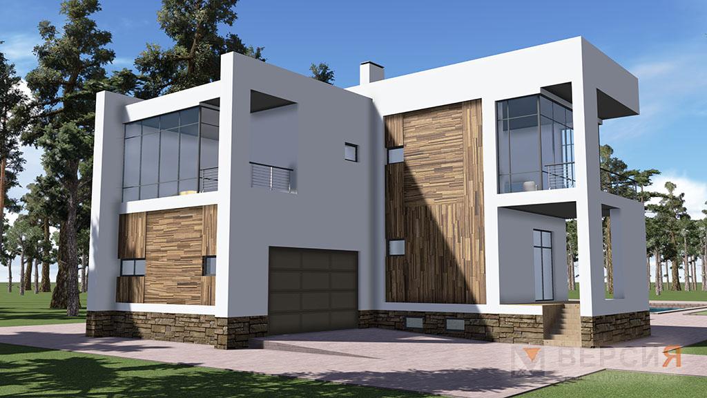 Архитектура в стиле минимализм